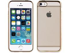 Capa MUVIT iPhone 5/5S/SE Life borde Dourado