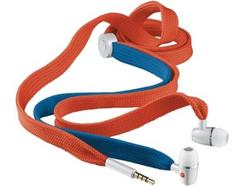 Auricular c/ Fio Atacador Vermelho e Azul