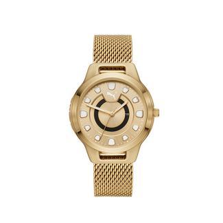 Relógio desportivo de mulher Reset V1 Puma Dourado