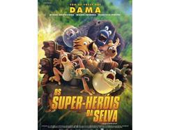 DVD Os Super-Heróis da Selva