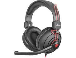 Auscultadores Gaming Com fio GENESIS H70 (Over Ear – Com Microfone)