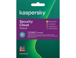 Software KASPERSKY Security Cloud ESD (3 Dispositivos – 1 ano – Smartphone e Tablet)