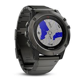 Garmin fēnix 5X 51MM Sapphire cinzento ardósia com bracelete metálica