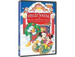 DVD Feliz Natal Com Mickey, Donald e Amigos (Dobrado: Sim)