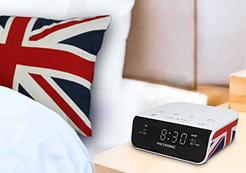Rádio Despertador Duplo Alarme METRONIC 477009 UK