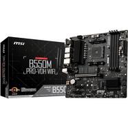 MSI B550M PRO-VDH WIFI (Socket AM4 – AMD B550 – Micro-ATX)