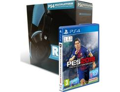 Pack Jogo PES 2018 + Headset Indeca Ray – PS4