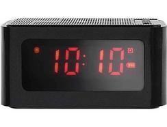 Rádio Despertador CLIPSONIC TES186N (Preto – Digital – Bateria)