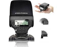 Flash MEIKE MK320 para Micro 4/3