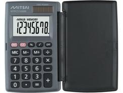 Calculadora Básica MITSAI Com Tampa Preto
