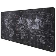 Tapete Anpollo Gaming Mouse Mat XXL 900x400x3mm World Map
