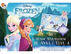 Livro Frozen: O Mundo Maravilhoso de Anna de vários autores
