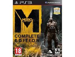 Jogo PS3 Metro: Last Light -Complete Edition