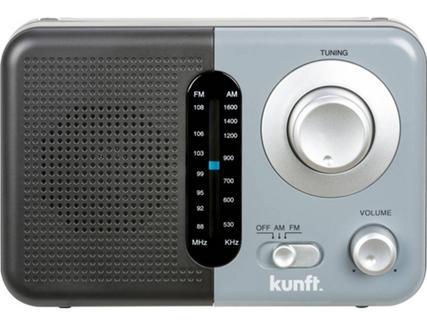 Rádio Portátil KUNFT KPR4173 Cinzento