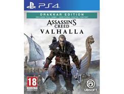 Jogo PS4 Assassin's Creed Valhalla (Drakkar Edition – M18)