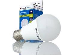 Pack 2 Lâmpadas LED V-TAC 4500K 806L (10 W – Casquilho: E27 – 1 Lâmpada – Luz Branca)