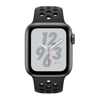 Apple Watch Nike+ Series 4 40mm – Alumínio Cinzento | Bracelete Desportiva Nike – Antracite | Preto