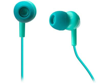 Auriculares Com fio SBS Pop Collection (In Ear – Microfone – Azul)