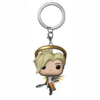 Figura FUNKO Pop Keychain: Overwatch – Mercy