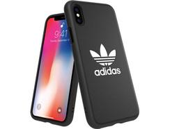 Capa ADIDAS Moulded Basic iPhone X, XS Preto