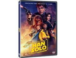 DVD Han Solo: Uma História de Star Wars