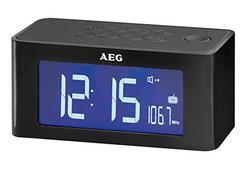 Rádio Despertador AEG MRC 4140 Preto