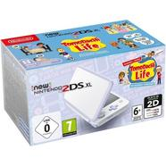 Consola NINTENDO New 2DS XL Branco e Lavanda + Jogo Tomodachi Life (pré-instalado)