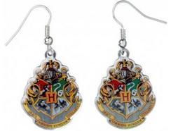 Brincos HARRY POTTER Brasão Hogwarts