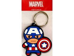 Porta-Chaves PYRAMID Marvel Captain America Kawaii