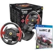 T150 Ferrari Editon + WRC 8 PS4