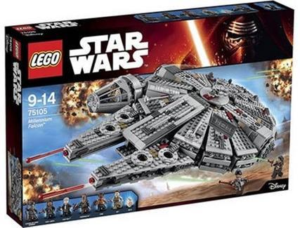 Construção LEGO Millennium Falcon