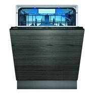 Máquina de Lavar Loiça Encastre SIEMENS SN97YX01CE (14 Conjuntos – 59.8 cm – Painel Preto)