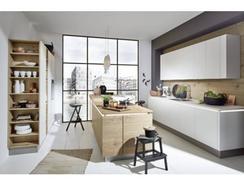Cozinha Moderna Timber Feel