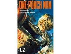 Manga One-Punch Man 02 de One e Yusuke Murata