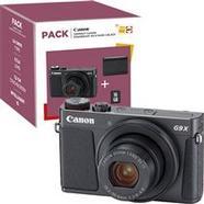 Pack Fnac Canon Powershot G9 X Mark II – Preto + Bolsa + Cartão SD