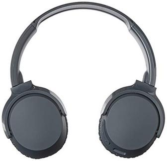 Auscultadores Bluetooth SKULLCANDY Riff (Over Ear – Microfone – Preto)