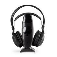 Auscultadores Wireless FONESTAR FA-8060 (Over Ear – Preto)