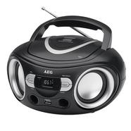 Rádio Boombox USB/CD AEG SR4374 Preto