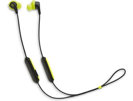 Auriculares Bluetooth JBL Endurance Run (In Ear – Microfone – Preto e Verde)