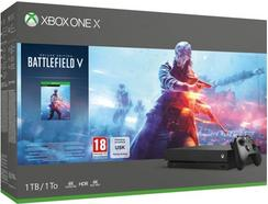 Consola Xbox One X Gold Rush Special Edition – 1TB + Battlefield™ V – Deluxe Edition