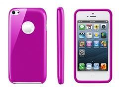 Capa Minigel MUVIT para iPhone 5C Rosa
