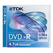 DVDR DVD-R TDK 4.7GB 16X JC