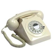 Telefone fixo clássico GPO 746