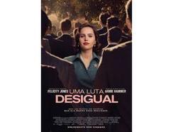 DVD Uma Luta Desigual (De: Mimi Leder – 2018)