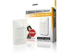 Sistema de alarme KÖNIG Sensor de movimentos LED Dummy