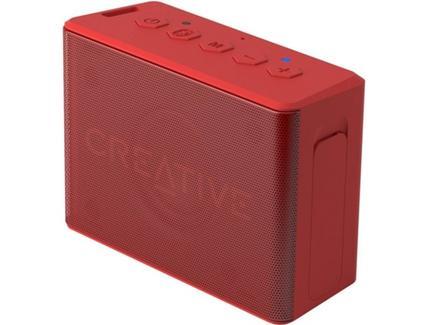Coluna Bluetooth CREATIVE Muvo 2C em Vermelho