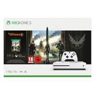 Consola XBOX ONE S + Jogo Tom Clancy's The Division 2 (1 TB – M18)