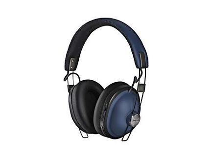 Auscultadores Bluetooth PANASONIC RP-HTX90NE (On Ear – Microfone – Noise Canceling – Azul)