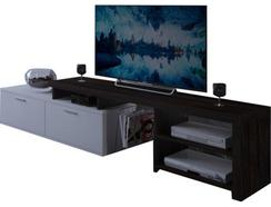 Móvel TV CSD Neptuno 2P+1G Wengue/Br