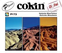 Filtro Polarizador COKIN P173 Bicolor Azul e Amarelo